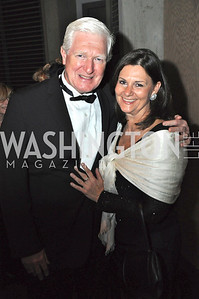 Congressman Jim Moran (VA) and LuAnn Bennett, Arena Stage hosted their annual Golden Gala