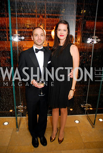 John Wilwol,Sophie Gilbert,October 15,2012,Harman Center for the Arts Gala,Kyle  Samperton