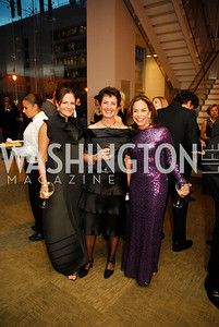 Andrea Weiswasser,Joan Fabry,Melissa Moss,October 15,2012,Harman Center for the Arts Gala,Kyle Samperton