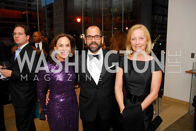 Melissa Moss,Philip Dufour,Elissa Bernius,October 15,2012,Harman Center for the Arts Gala,Kyle Samperton