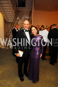 F.Murray Abraham,Melissa Moss,October 15,2012,Harman Center for the Arts Gala,Kyle Samperton