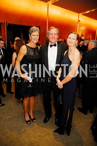 Meg Haugue ,John  Haugue,Anne Dickerson,October 15,2012,Harman Center for the Arts Gala,Kyle Samperton