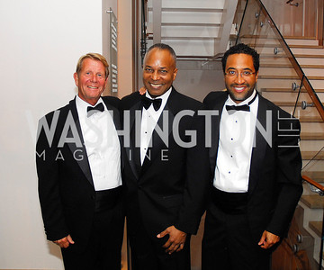 David Dunning,John Hill,Brian Williams,October 15,2012,Harman Center for the Arts Gala,Kyle Samperton