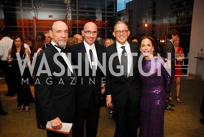 F.Murray Abraham,,Tom Healy,Fred Hochberg,Melissa Moss,October 15,2012,Harman Center for the Arts Gala,Kyle Samperton