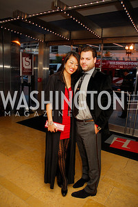 Pamela Sorensen,Jason Kampf,October 15,2012,Harman Center for the Arts Gala,Kyle Samperton