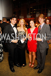 John Bambery Emily Ferrantiper,Coral Smith,Max Reinhardsen,October 15,2012,Harman Center for the Arts Gala,Kyle Samperton