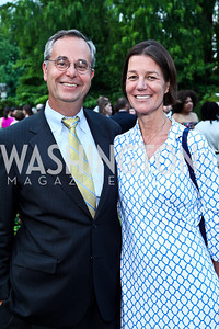 David Leiter, Tamera Luzzatto. Prêt-à-Papier Opening Gala. Photo by Tony Powell. June 14, 2012