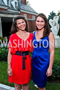 Mary Katherine and Elizabeth Stinson. Prêt-à-Papier Opening Gala. Photo by Tony Powell. June 14, 2012