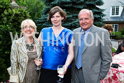 Cheryl Owen, Angie Dodson, John Palmer. Prêt-à-Papier Opening Gala. Photo by Tony Powell. June 14, 2012