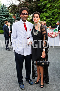 Guy and Nupur Flynn. Prêt-à-Papier Opening Gala. Photo by Tony Powell. June 14, 2012