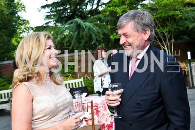 Co-Chair Susan Bollendorf, Werner de Borchgrave. Prêt-à-Papier Opening Gala. Photo by Tony Powell. June 14, 2012