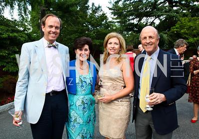 Robert Broeksmit, Sally Chapoton, Co-Chair Susan Bollendorf, Buck Chapoton. Prêt-à-Papier Opening Gala. Photo by Tony Powell. June 14, 2012