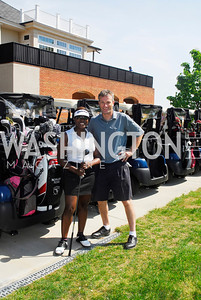 Lakeitha Anderson,Bill Tuerine,April 16,2012, Hole in One for Cornerstone Kids,Kyle Samperton