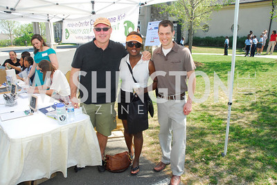 Brian Thomas,Lakeitha Anderson,Clay Hanna,April 16,2012, Hole in  One for Cornerstone Kids,Kyle  Samperton