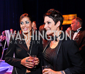 Vanessa Lopez, Rachel Broussard. Photo by Tony Powell. HRC 16th Annual National Dinner. Convention Center. October 6, 2012