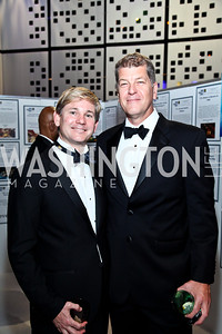 Andrew Oros, Steve Clemons. Photo by Tony Powell. HRC 16th Annual National Dinner. Convention Center. October 6, 2012
