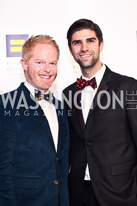 Jesse Tyler Ferguson and Justin Mikita. Photo by Tony Powell. HRC 16th Annual National Dinner. Convention Center. October 6, 2012
