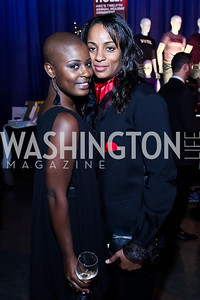 Brandii Daniels, Starla Hylton. Photo by Tony Powell. HRC 16th Annual National Dinner. Convention Center. October 6, 2012