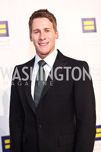 Writer, director, producer, Dustin Lance Black. Photo by Tony Powell. HRC 16th Annual National Dinner. Convention Center. October 6, 2012