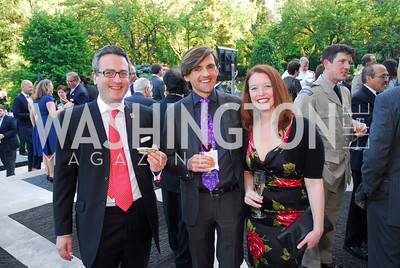 Nic Hailey,Peter Matheson,Peep Hughes,June  4,2012In Celebration of The Diamond Jubilee of Her Majesty Queen Elizabeth II,British Embassy,Kyle Samperton