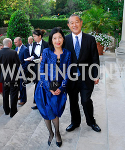 Yoriko Fujisaki,Amb.Ichiro Fujisaki,June  4,2012In Celebration of The Diamond Jubilee of Her Majesty Queen Elizabeth II,British Embassy,Kyle Samperton