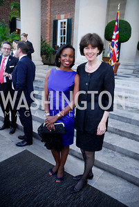 Amb.LaCelia Prince Amb.Renee Jones-Bos,June  4,2012In Celebration of The Diamond Jubilee of Her Majesty Queen Elizabeth II,British Embassy,Kyle Samperton