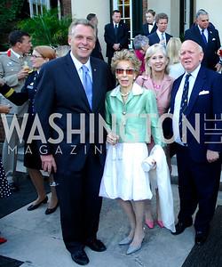 Terry McAuliffe,Ina Ginsburg,Willee Lewis,Thomas Caplan,June  4,2012In Celebration of The Diamond Jubilee of Her Majesty Queen Elizabeth II,British Embassy,Kyle Samperton