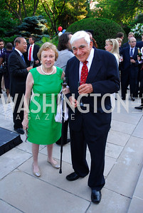 Elizabeth Drew,Alan Cohen,June  4,2012In Celebration of The Diamond Jubilee of Her Majesty Queen Elizabeth II,British Embassy,Kyle Samperton