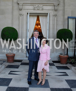 Sir Peter Westmacott,Lady Westmacott,,June  4,2012In Celebration of The Diamond Jubilee of Her Majesty Queen Elizabeth II,British Embassy,Kyle Samperton