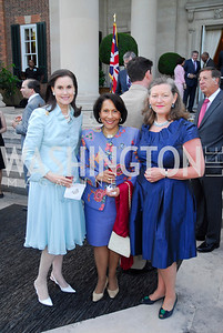 Alexandra de Borchgrave,Gail West,Amanda Downes,June  4,2012In Celebration of The Diamond Jubilee of Her Majesty Queen Elizabeth II,British Embassy,Kyle Samperton