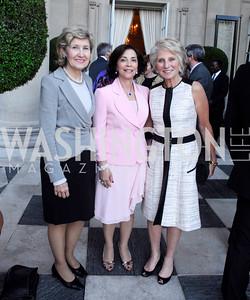 Sen.Kay Bailey Hutchinson,Lady Westmacott,Jane Harmon,June  4,2012In Celebration of The Diamond Jubilee of Her Majesty Queen Elizabeth II,British Embassy,Kyle Samperton