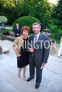 Meryl Chertoff,Robert Justin,June  4,2012In Celebration of The Diamond Jubilee of Her Majesty Queen Elizabeth II,British Embassy,Kyle Samperton