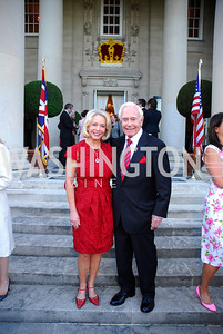 Mary Ourisman,Mandy Ourisman,June  4,2012In Celebration of The Diamond Jubilee of Her Majesty Queen Elizabeth II,British Embassy,Kyle Samperton