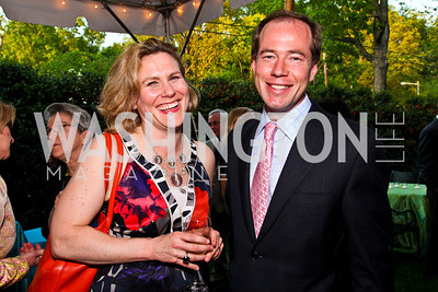 "Sarah Despres, Allan Coukell. Ira Shapiro's ""The Last Great Senate"" book party. Photo by Tony Powell. April 16, 2012"