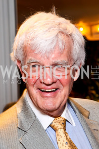 "Al Hunt. Ira Shapiro's ""The Last Great Senate"" book party. Photo by Tony Powell. April 16, 2012"