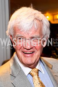 """Al Hunt. Ira Shapiro's """"The Last Great Senate"""" book party. Photo by Tony Powell. April 16, 2012"""