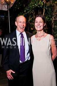 "Ira Shapiro, Tamera Luzzatto. Ira Shapiro's ""The Last Great Senate"" book party. Photo by Tony Powell. April 16, 2012"