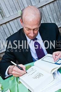"""Ira Shapiro. Ira Shapiro's """"The Last Great Senate"""" book party. Photo by Tony Powell. April 16, 2012"""