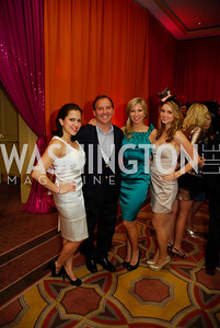 Kathleen Galvan,Richard Scully,Vivian Leslie,Veronica Stroh,January 21,2012,Jete Society Mad Hatter Dance Party,Kyle Samperton