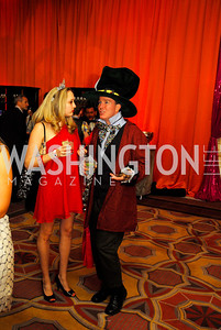 Jessica Graham,Larry O'Halloran, January 21,2012,Jete Society Mad Hatter Dance Party,Kyle Samperton