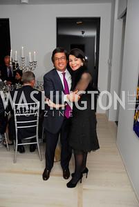 Ambassador Luis Moreno,JoAnn Mason,January 14,2012,JoAnn Mason's Birthday