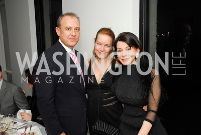 Ambassador Arturo Sarukhan,Dietlinde Maazel,JoAnn Mason,January 14,2012,JoAnn Mason's Birthday