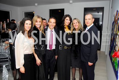 Veronica Sarukhan,Dondi Dahlgard,Ricardo Ernst,Jennifer Cameltoque,Isabel Ernst,Ambassador Arturo Sarukhan.January 14,2012,JoAnn Mason's Birthday