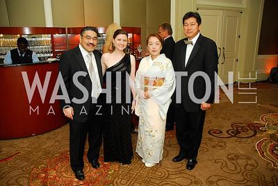 Bob Hisaoka,Paula Hisaoka,Sachiko Kuno,Ryuji Ueno,September 22,2012,Joan Hisaoka  Make a Difference Gala,Kyle Samperton