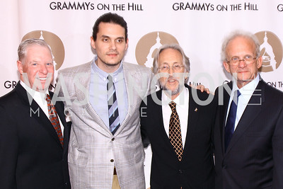 Pat Collins, John Mayer, Neil Portnow, Howard Berman