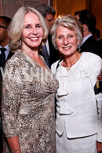 "Sally Quinn, Jane Harman. Kati Marton's ""Paris: A Love Story"" book launch. Photo by Tony Powell. Residence of the Ambassador of France. September 10, 2012"