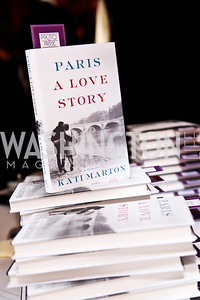 "Kati Marton's ""Paris: A Love Story"" book launch. Photo by Tony Powell. Residence of the Ambassador of France. September 10, 2012"