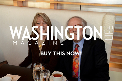 senior correspondent for CBS News, Rita Braver and husband Washington, D.C. lawyer Bob Barnett Photo by Neshan H. Naltchayan
