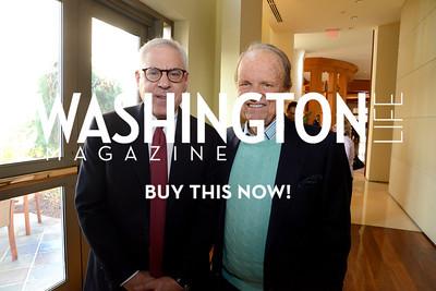David Rubenstein and George Stevens Jr. Photo by Neshan H. Naltchayan