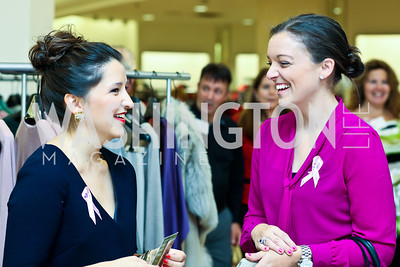 Terri Eaves, Abbey Slitor. Photo by Tony Powell. Kickoff for Key to the Cure. Saks Tyson's Galleria. October 18, 2012